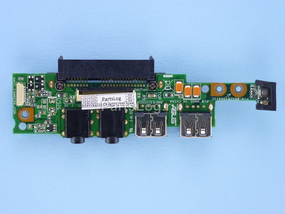 Плата 08g2035ha13c Asus Eee PC 1005 USB Audio SATA | Купить